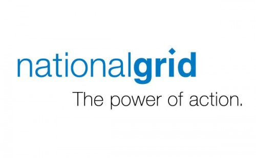 National grid logo and tag